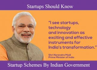Startup Schemes By Indian Government That Startups Should Know