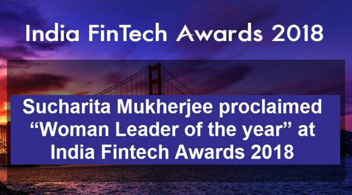 Sucharita Mukherjee india fintech award