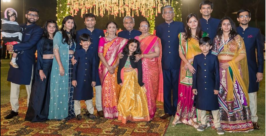 Mr. Ajit Shah Family-vyapaarjagat