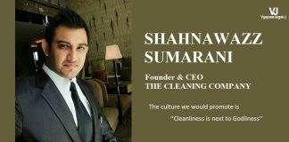 Shahnawazz Sumarani-Founder of The Cleaning Company