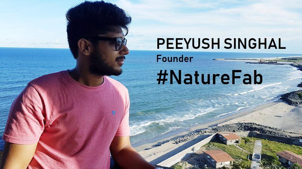 Peeyush Singhal Founder NatureFabStore