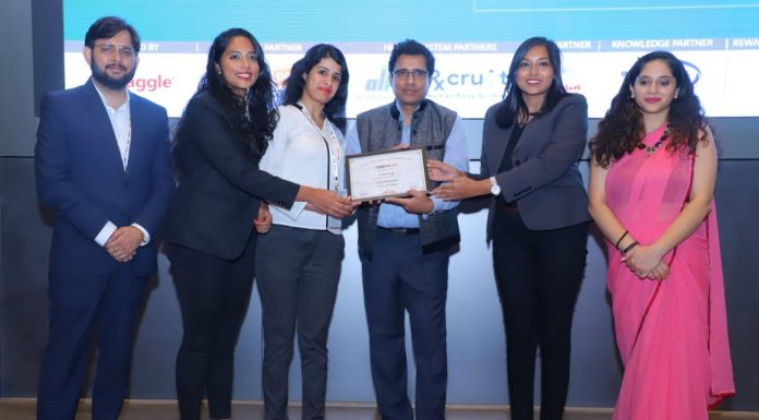 Cadila Pharmaceuticals has won the prestigious 'Observe Now Future of Workplace Award'
