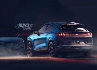 Mustang Latest Mach E Photo Leaked - Vyapaarjagat