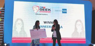 Tanneeru Leela_Winner of TechGig Geek Goddess 2019