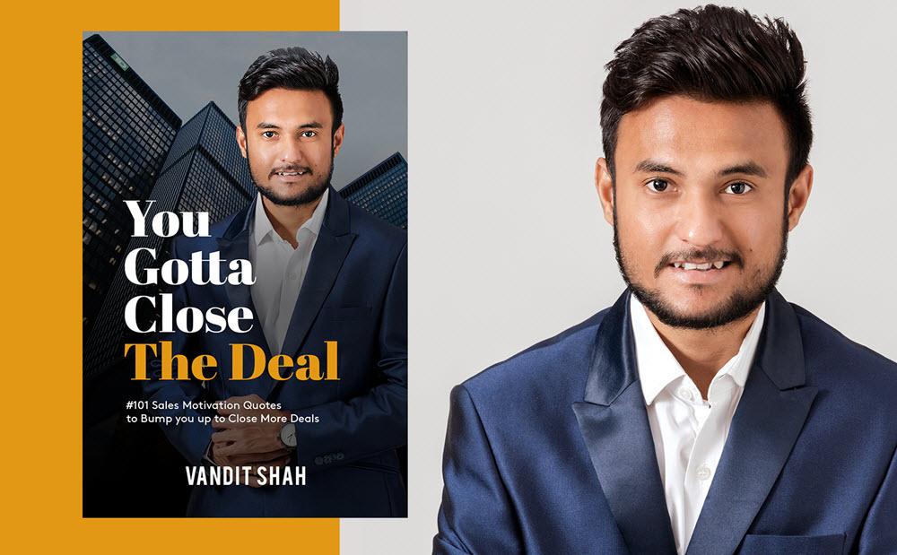 Vandit Shah an Young Entrepreneur - vyapaarjagat