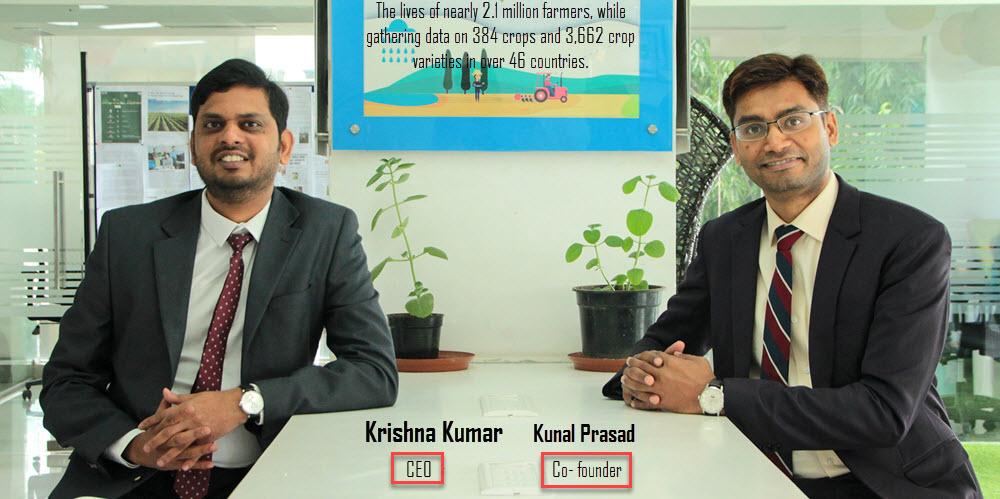 Krishna Kumar CEO & Kunal Prasad Co founder(AI led Assistance) - vyapaarjagat
