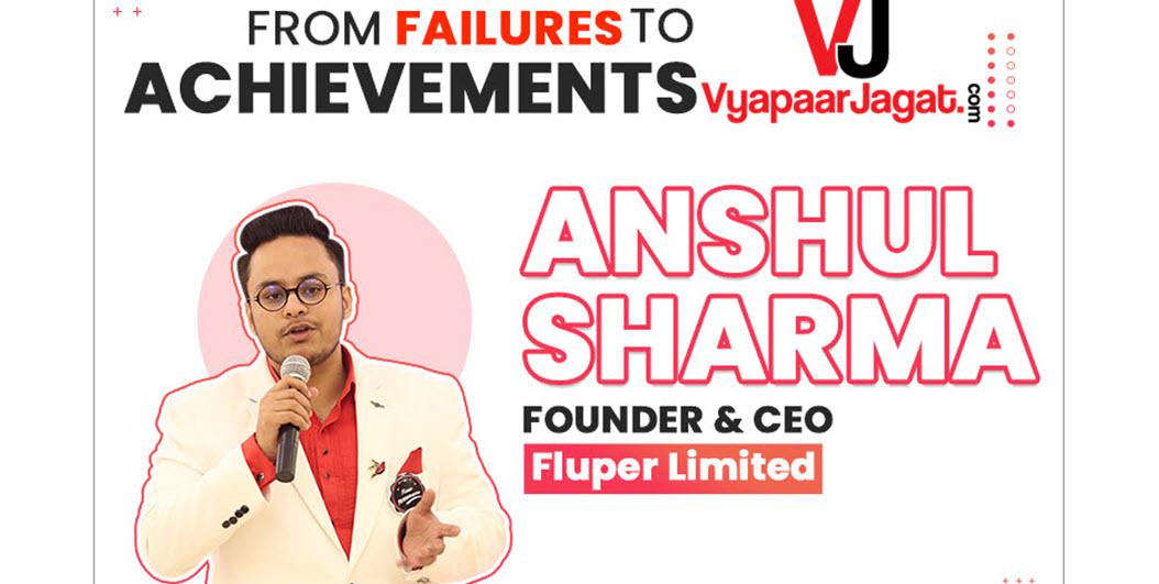Mr. Anshul Sharma - vyapaarjagat
