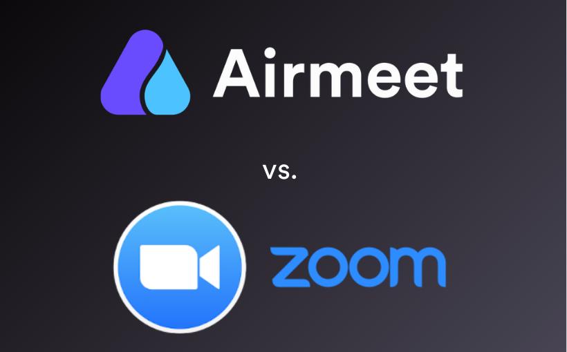 Airmeet VS Zoom-vyapaarjagat
