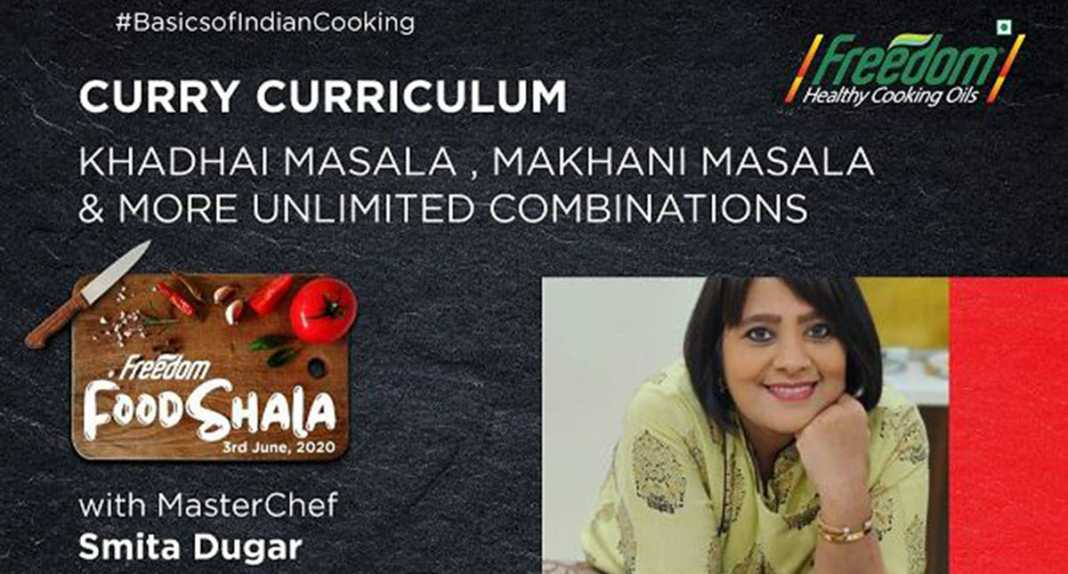 MasterChef Smita Dugar(Freedom Healthy Cooking oils) - vyapaarjagat