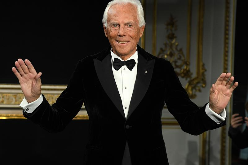 Giorgio Armani Biography success story